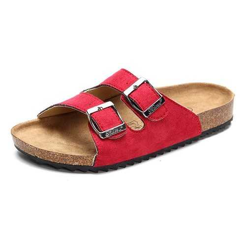 Unisex Kids Casual Comfy Beach Softwood Slippers