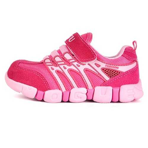 Unisex Kids Breathable Firm-Ground Sports Shoes