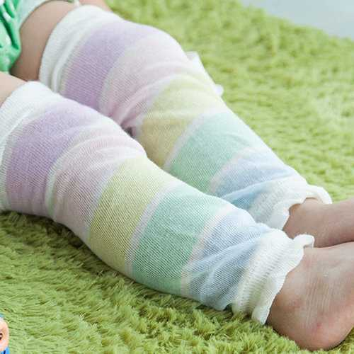 Children Cotton Crawling Knee Protector Breathable Anti-Mosquito Knee
