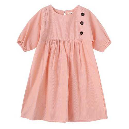 Girls Short Sleeve Casual Dresses