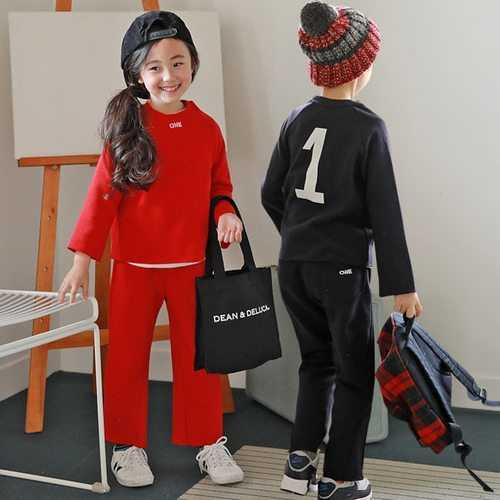 2pcs Kids Boys Girls Outfits Clothing Set