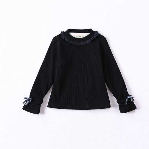 Princess Ruffles Bow Girls Tops Shirt