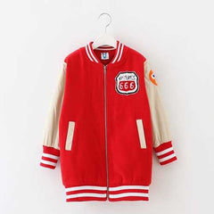 Baseball Jacket for Kids Boys Girls
