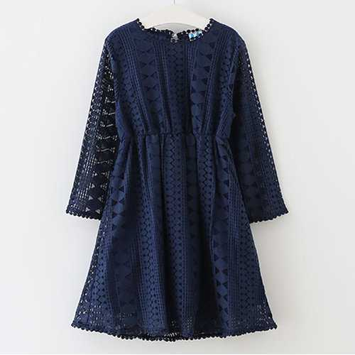 Hollow Out Girls Dress