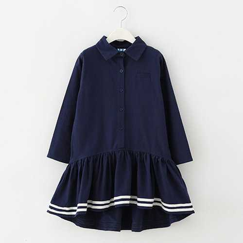 School Style A Line Casual Dresses