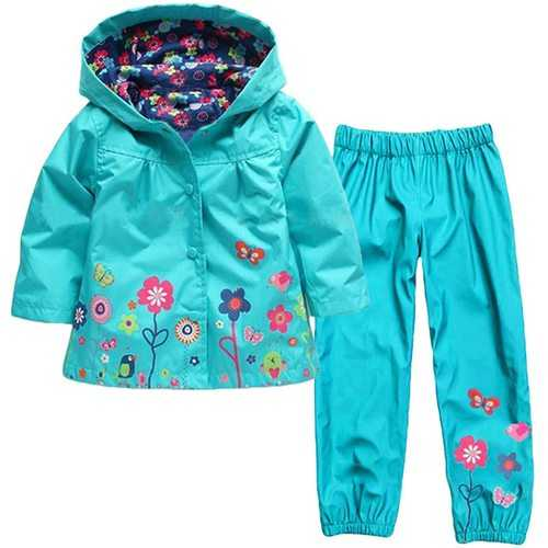 Rain Coat + Pants For Kids