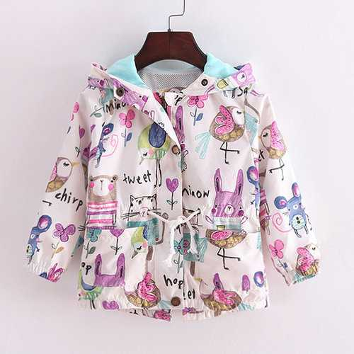 Cute Cotton Baby Girls Coat
