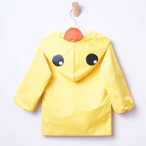 Kids Yellow Duck Raincoat Outfit