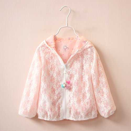 Baby Girls Summer Sunscreen Outerwear