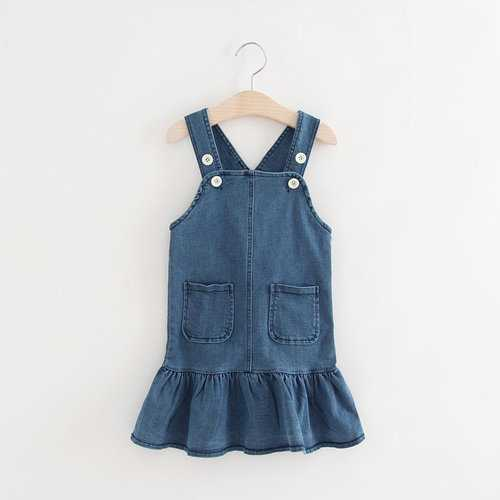 New Girls Denim Dress