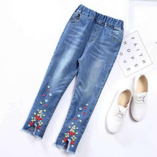 Girl Jeans Pants for Spring Autumn