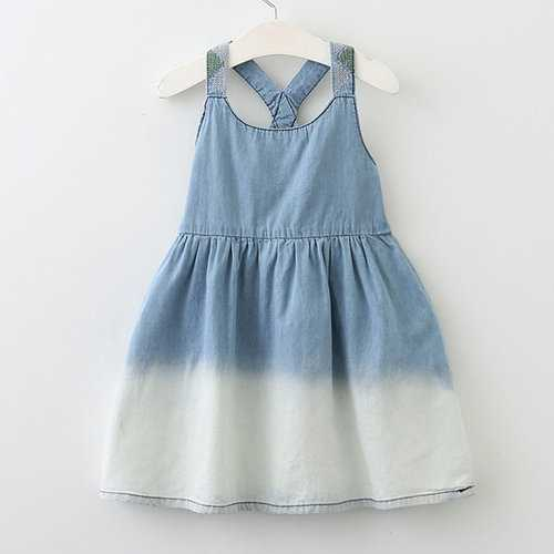 Girls Clothes Suspender Dress