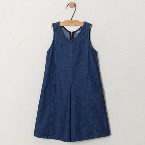 Chic Girls Denim Overall