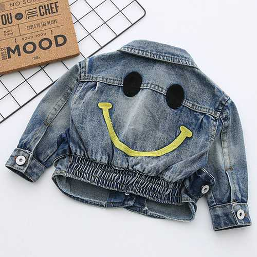 Cute Jean Jacket for Boys Girls