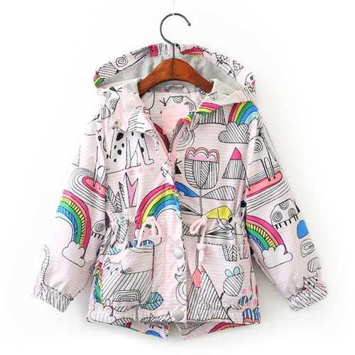 Rainbow Print Girls Clothes