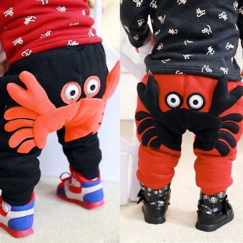 Cute 3D Animal Design Baby Pants