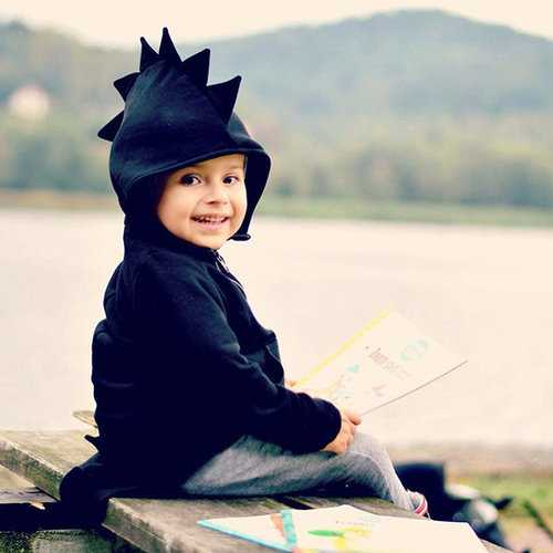 Cartoon Baby Boy Girls Kids Coat