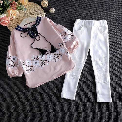 Girls Clothing Sets T-shirt + Pants