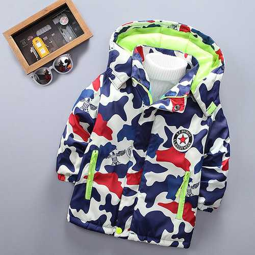 Printed Kids Jacket Winter Coat
