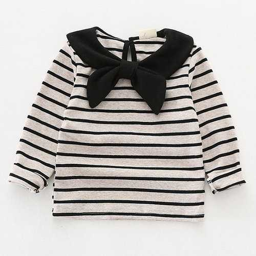 Striped Girls Sweatshirt Clothes