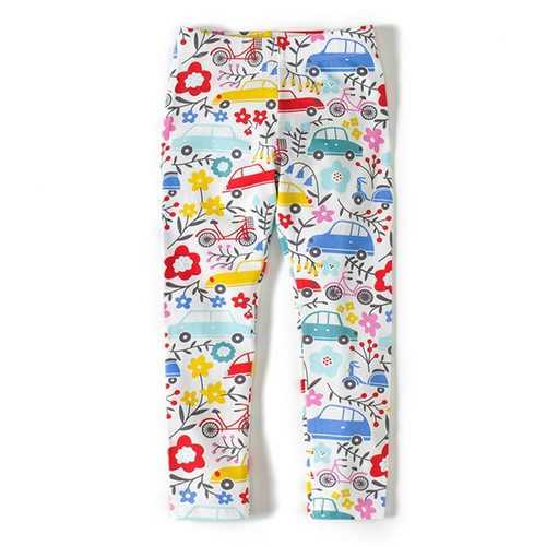 Cotton Baby Kids Girls Leggings Pants