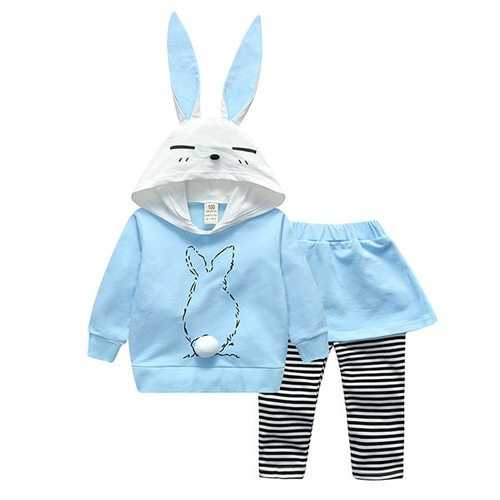 Rabbit Bunny Girls Clothing Sets