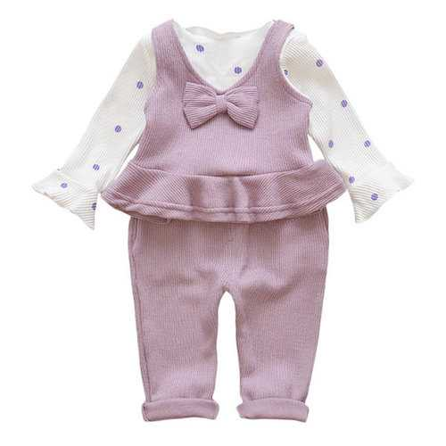 Ruffles Spring Girls Clothes Sets