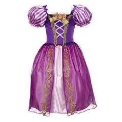 Long Hair Princess Costume For 3Y-13Y