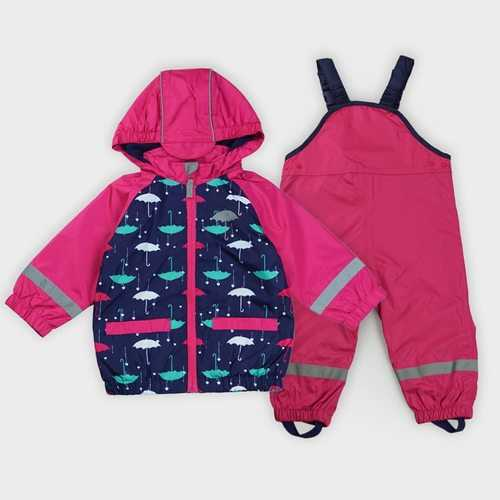 Girls Thicken Warm Hooded Ski Snowsuit