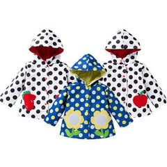 Spring Girls Jackets Raincoat