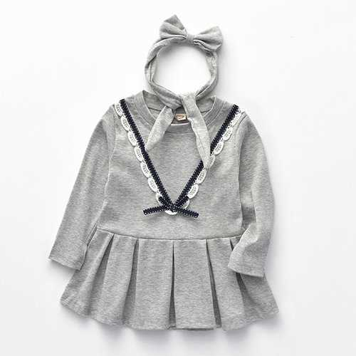Girls Casual Cotton Dresses