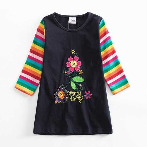 Flower Long Sleeve Baby Girl Dress