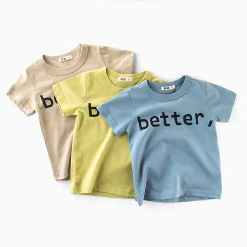 BETTER Printed Baby Boys Summer Tees