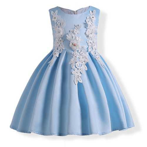 3D Flower Girls Dresses