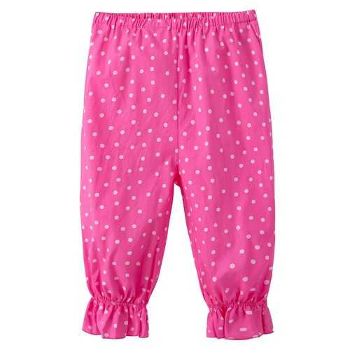 Pink Dot Printing Baby Girl Pants