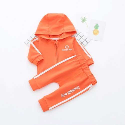 2Pcs Sport Style Spring Kids Clothing Set