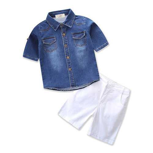 2pcs Infant Boys Short Clothing Sets