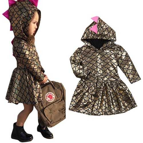 Cute Infant Baby Girls Cosplay Dress