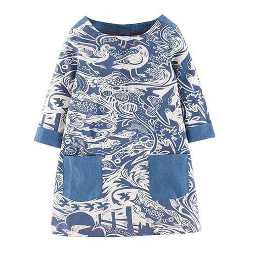 Leisure Spring Dresses For Toddler Girls 2-7 Years