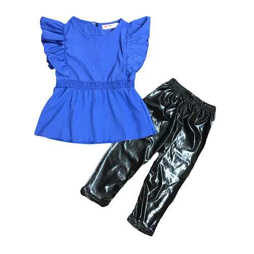 2pcs Office Style Girls Clothing Set