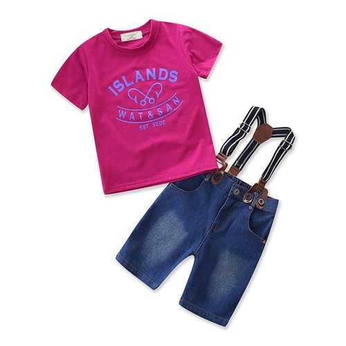 2pcs Casual Style Boys Clothing Sets
