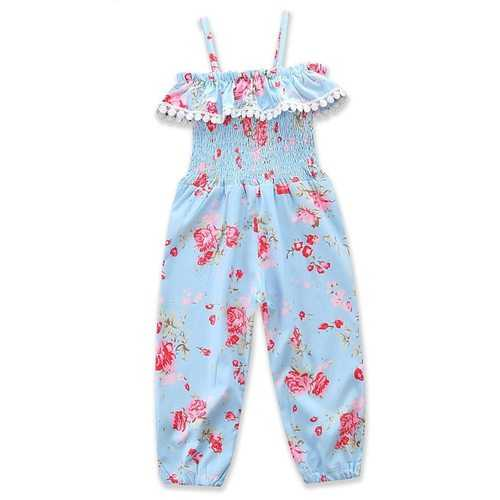 Summer Toddler Baby Girls Overall Pants