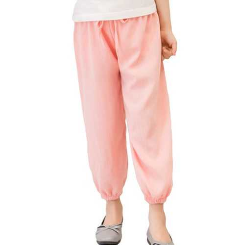 Candy Color Girls Lantern Pants