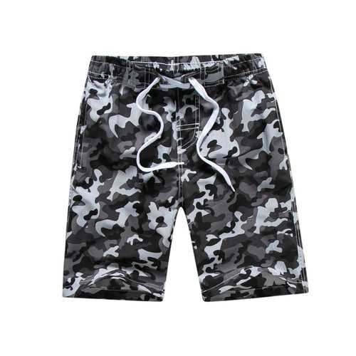 Camouflage Boys Summer Shorts