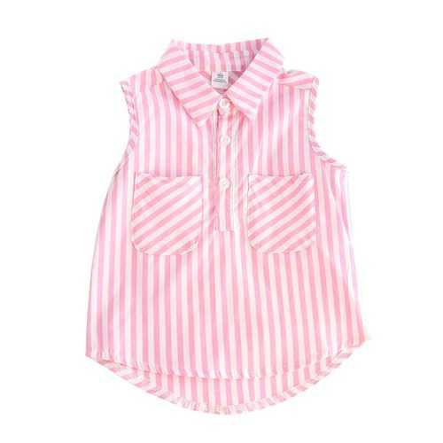Summer Toddler Girls Sleeveless Vest