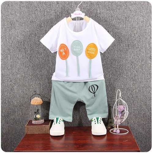 Balloon Toddler Boys Summer Short Set