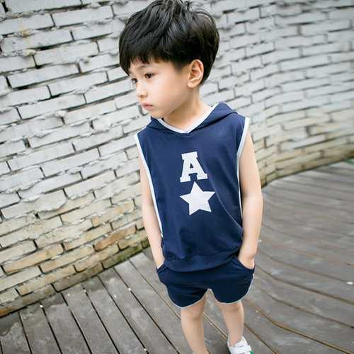 Sport Style Toddler Boys Short Set
