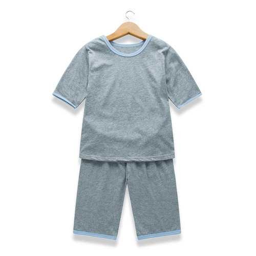 Soft Cotton Unisex Pajama Set For 1Y-13Y