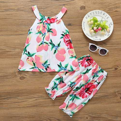 Flower Toddlers Girls Clothing Set