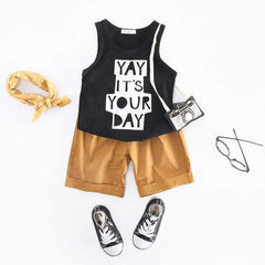 Kids Boys Summer Clothes Set